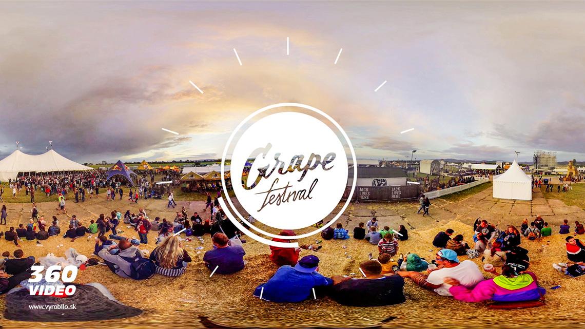 grape festival 360 video